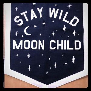Urban Outfitters Stay Wild Moon Child Banner